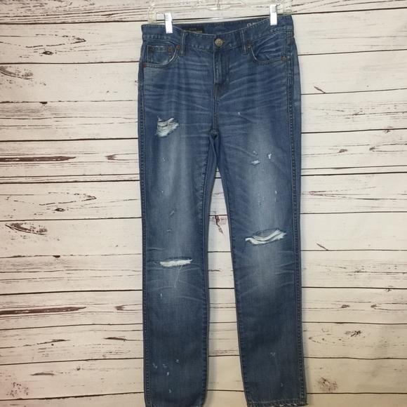 J. Crew Denim - J. Crew Distressed Boyfriend Jeans
